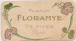 PARFUM FLORAMYE L T PIVER PARIS / CALENDRIER 1913  C1353 - Oud (tot 1960)
