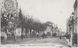 BOURG - PLACE JOUBERT ET AVENUE ALSACE-LORRAINE - BELLE ANIMATION - 1906 - Sonstige