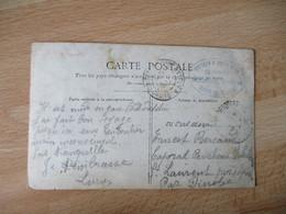 Port D Atelier Service De Garde Voies Communication   Franchise Postale Guerre 14.18 - WW I