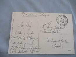 Tresor Et Postes 200  Occupation Allemagne Neustadt Cachet  Franchise Postale Guerre 14.18 - Guerra De 1914-18