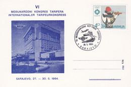 6th International Tariff Conference Sarajevo 1984 - Trains