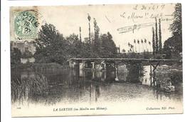 La CHAPELLE SAINT-AUBIN - Passerelle Du Moulin Aux Moines (1906) - Andere Gemeenten