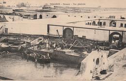 N°6752 -cpa Mogador (Maroc) Douane -vue Générale- - Customs