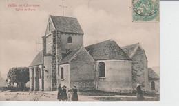 YVELINES - Vallée De Chevreuse - Eglise De Bures  ( Carte Pionnière /timbre à Date De 1904 ) - Bures Sur Yvette