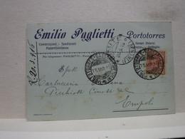 PORTOTORRES -- SASSARI  --  EMILIO PAGLIETTI  -- COMMISSIONI -RAPPRESENTANZE - Sassari