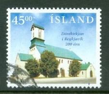 Iceland 1996; Dom Of Reykjavik - Michel 859, Used. - Used Stamps