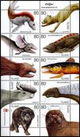 Islanda / Iceland 2009: Minifoglio Animali Mitologici /  Legendary Animals Sheetlet ** - Blocs-feuillets