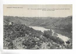03 - Environs De Montluçon - Vue De La Montagne De Saint-Marien, Un Jour De Pèlerinage - Otros Municipios