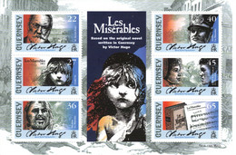 Guernesey 2002 Victor Hugo Bloc Les Misérables - Guernsey