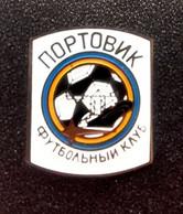 Football Pins  -   FC Portovyk Illichivsk  - Ukraine. - Calcio