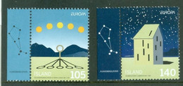 Iceland 2009; Europa Cept, Michel 1242-1243.** - Nuovi