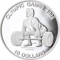 Monnaie, Nauru, 10 Dollars, 1995, Proof, FDC, Argent, KM:9 - Nauru