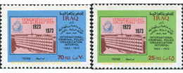 Ref. 633387 * MNH * - IRAQ. 1973. 50 ANIVERSARIO DE INTERPOL - Iraq