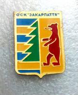 Football Pins  -   Zakarpattya, Uzhgorod     - Ukraine. - Calcio
