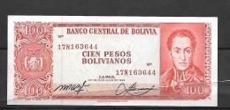 Bolivie : 100  Bolivianos Neuf Qualité , Superbe - Bolivia
