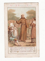 Chromo   AIGUEBELLE    Vie De Saint Antoine De Padoue     12.4 X 7.9 Cm - Aiguebelle
