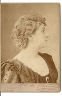 ARTISTE . SOUVENIR SOIREE TURIN . PHOTO NADAR .1894 - Signed Photographs