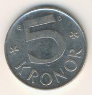 SVERIGE 1990: 5 Kronor, KM 853 - Zweden