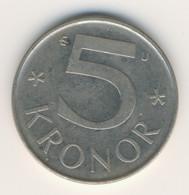 SVERIGE 1985: 5 Kronor, KM 853 - Zweden