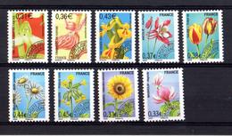 FRANCE Préoblitérés Yvert 250/58 Neufs Flore-Fleurs - 1989-....