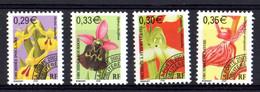 FRANCE Préoblitérés Yvert 244/47 Neufs Flore-Fleurs - 1989-....