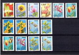 FRANCE Préoblitérés Yvert 249/62 Neufs Flore-Fleurs - 1989-....