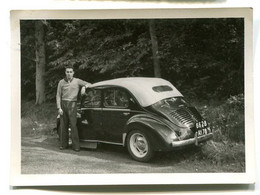 Photographie Privée 4 Cv Renault Décapotable - Coches
