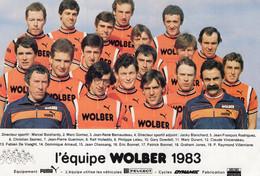 6576 Cp Cyclisme  Team Wolber 1983 - Cycling