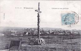 62  -  Pas De Calais -  WIMEREUX  - Calvaire Et Vue Generale - Andere Gemeenten