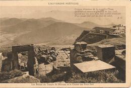 CPA 63 LE PUY DE DOMME Temple De Mercure 1945 - Clermont Ferrand
