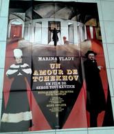 Aff Orig Ciné UN AMOUR DE TCHEKOV Marina VLADY 1969 120x160cm Illustration Mascii - Affiches & Posters
