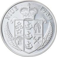 Monnaie, Niue, Elizabeth II, 50 Dollars, 1989, Proof, FDC, Argent, KM:27 - Niue