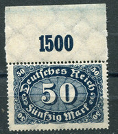 Germania - Deutsches Reich - Mi. 246 P OR ** - Neufs