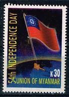 Myanmar 2002,Michel# 359 O  Independence, 54th Anniversary - Myanmar (Burma 1948-...)