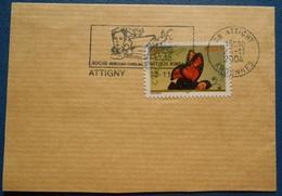 12 002 Flamme Oblitération Attigny 08 Ardennes Roche Berceau Familial D'Arthur Rimbaud 23 11 2004 - Mechanical Postmarks (Advertisement)