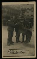 WW II DR Foto Postkarte Militär Soldaten , Frankreich Lille 1941: Ungebraucht. - Duitsland