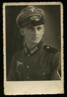 WW II DR Foto Postkarte Portrait Soldat Heer: Ungebraucht. - Duitsland