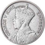 Monnaie, Nouvelle-Zélande, George V, Shilling, 1935, TTB, Argent, KM:3 - Nieuw-Zeeland