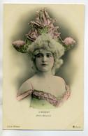 ARTISTE 0757 D'ARGENT Joli Chapeau D'Arlequin Folies Bergeres  1900  Série No 651  Th 39   Photog WALERY - Artistes
