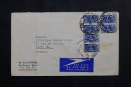 AFRIQUE DU SUD - Enveloppe Commerciale De Johannesburg Pour La France En 1946 - L 73719 - Storia Postale