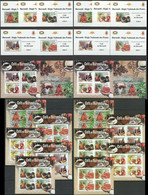 BU101 IMPERF,PERF 2012 BURUNDI NATURE FOOD COFFEE !!! 12BL+12KB MNH - Alimentation