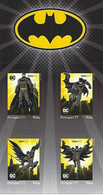 """PORTUGAL - """"meuselo"""" - DC Comics Batman - Super Heróis (4 Self-adhesive Stamps) - Date Of Issue: 2020-07-31 - Fairy Tales, Popular Stories & Legends"""