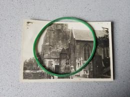 Knokke  Knocke  Photo D'époque  Eglise Cimetière 1923 - Knokke