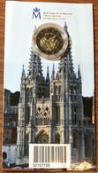 SPAGNA ESPANAS SPAIN 2012 2 € Catedral De Burgos Proof Blister Ufficiale - España