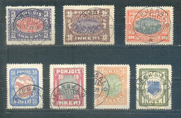 1920 Inkeri (North Ingermanland)Coat Of Arms And Views - Sonstige