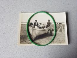 Knokke  Knocke  Photo D'époque  Barque Sur La Plage 1922 - Knokke