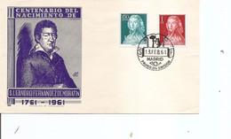Espagne - Leandro Fernandez De Moratin ( FDC De 1961 à Voir) - FDC