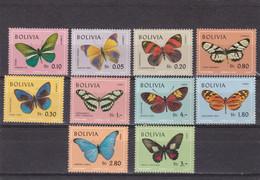 Bolivia Nº 488 Al 492 Y A283 Al A287 - Bolivia