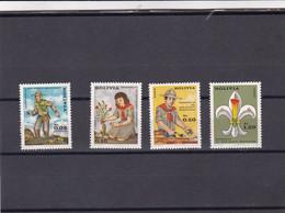 Bolivia Nº 493 Al 494 Y A288 Al A289 - Bolivia