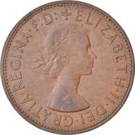 Monnaie, Grande-Bretagne, Elizabeth II, Penny, 1966, TB+, Bronze, KM:897 - 1902-1971 : Monete Post-Vittoriane